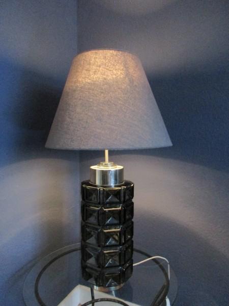 Große MIDCENTURY Tischlampe-Bodenlampe-DORIA