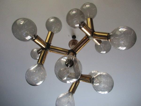 60's Trix & Robert Haussmann Molekül Lampe-SWISS LAMPS