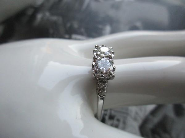 ART DECO Diamantring
