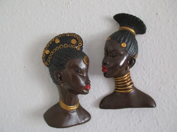 Zwei Wandbilder-MIDCENTURY-Keramik