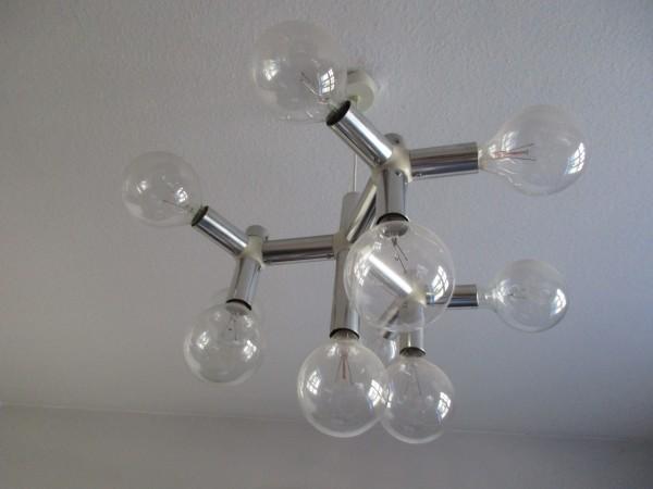 Original TRIX & ROBERT HAUSSMANN Lampe-SWISSLAMPS
