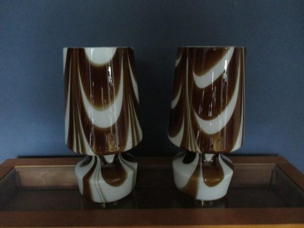 Zwei VINTAGE Tischlampen-CARLO MORETTI