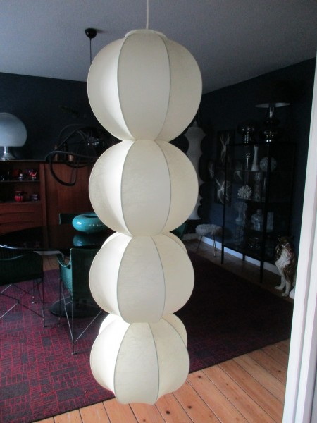 Gigantische COCOON Lampe-GOLDKANT Leuchten-MIDCENTURY Design