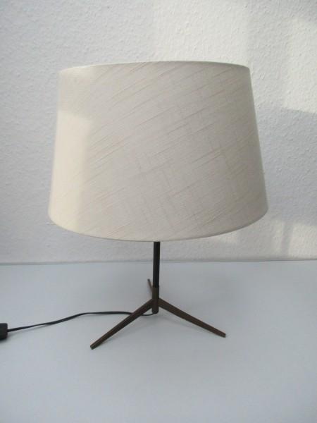 Tolle MIDCENTURY Tischlampe-Dreibein