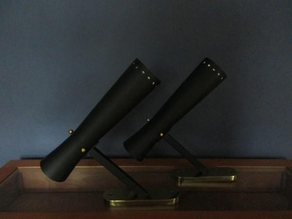 Zwei VINTAGE Wandlampen-STIL NOVO- Diavolo