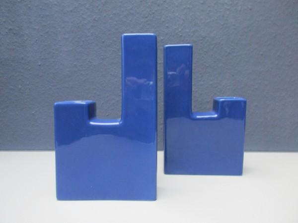 Tolles VINTAGE Set-Vase und Kerzenständer-MEMPHIS Design
