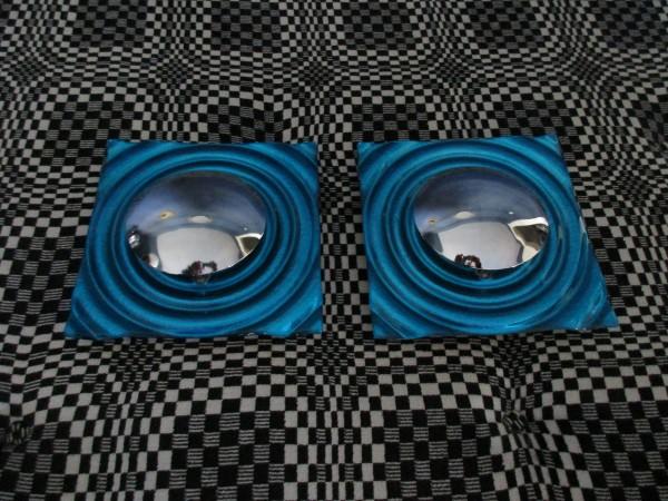 Zwei tolle VINTAGE Wandlampen-MURANO Glas