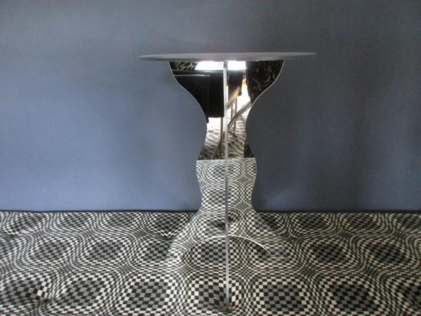 Toller VINTAGE Beistelltisch-Spiegeltisch