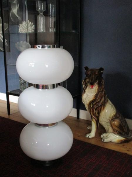 Gigantische Midcentury Bodenlampe-LIMBURG