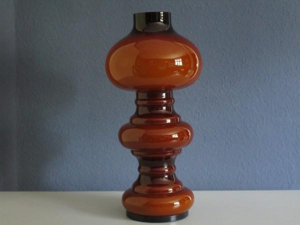 Gigantische MIDCENTURY Tischlampe-Glas-Peill & Putzler